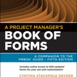 دانلود A Project Manager's Book Of Forms